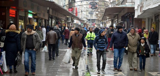 Türkiye nüfusu 81 milyona yaklaştı