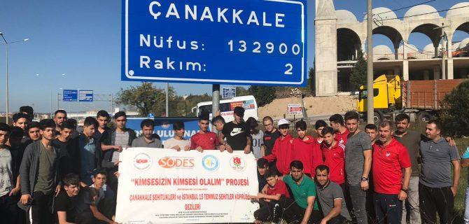 """""""Kimsesizin Kimsesi Olalım"""" projesiyle tarihi mekânlara gezi düzenlendi"""